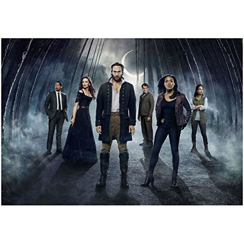 Sleepy Hollow Cast Shot Tom Mison Nichole Beharie Orlando Jones John Noble Katia Winter 8 x 10 Photo