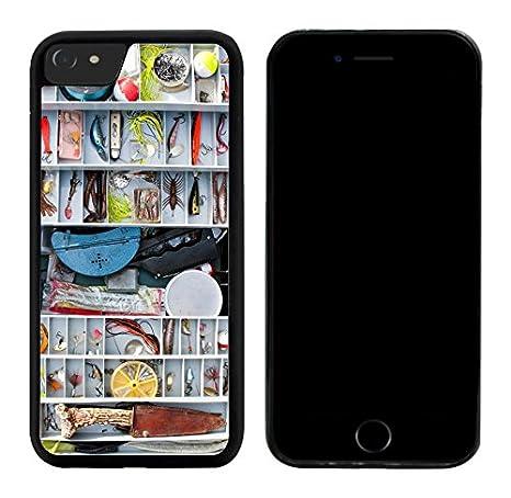 Rikki Knight - Carcasa híbrida de TPU para iPhone 7, diseño de pecera: Amazon.es: Electrónica
