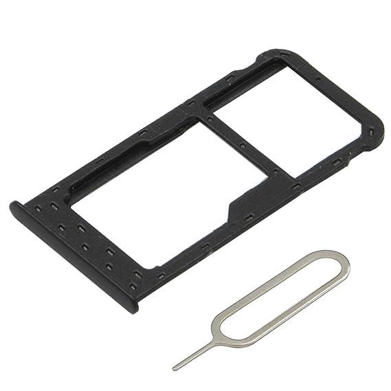 Huawei P Smart 2 Sim Karten.Mmobiel Dual Sim Card Tray Slot Compatible With Huawei P Smart 5 65 Inch Incl Sim Pin Black