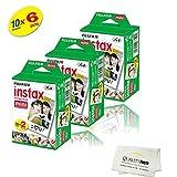 Amazon Price History for:Fujifilm INSTAX Mini Instant Film 6 Pack = 60 SHEETS (White) For Fujifilm Mini 8 and Mini 9 Cameras