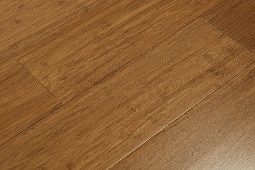 trand Woven Carbonized Solid Bamboo Flooring (6 inch Sample) ()