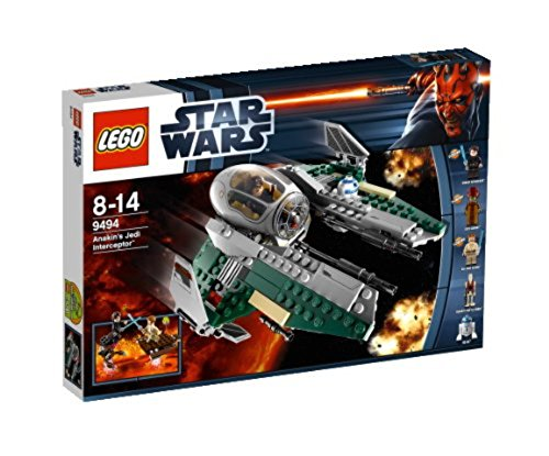 Lego Star Wars 9494 - Anakins Jedi Interceptor (Palpatine Star Arrest Lego Wars)