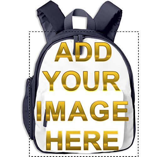 Personalized Kid's School Backpack For Book,Custom Adjustable Student Lunch Boxes -