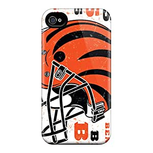 Ideal Saraumes Case Cover For Iphone 4/4s(cincinnati Bengals), Protective Stylish Case