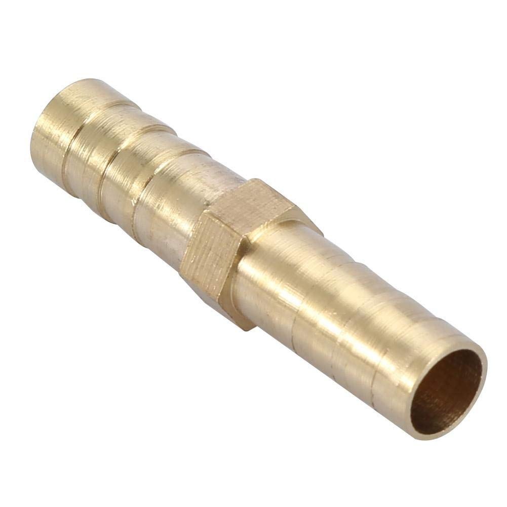 Conector Recto de P/úas de Lat/ón Acoplamiento Manguera de Agua Tubo Tubo Acoplador Combinador Adaptador Adaptador 6//8//10//12//14//16 20mm 6mm 10pcs