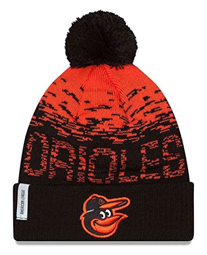fan products of MLB Baltimore Orioles Headwear, Orange/Black, One Size