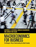 Macroeconomics for Business: The Manager's Way of Understanding the Global Economy
