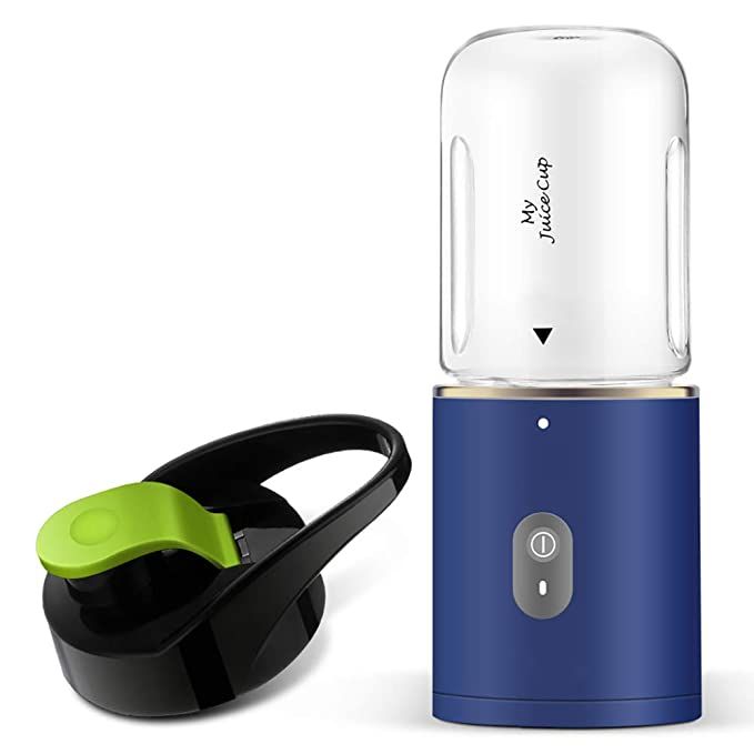 BSJZ USB Juicer Portable Blender with 350ml Juice Cup Super Easy to Clean Ideal for Thanksgiving Gifts