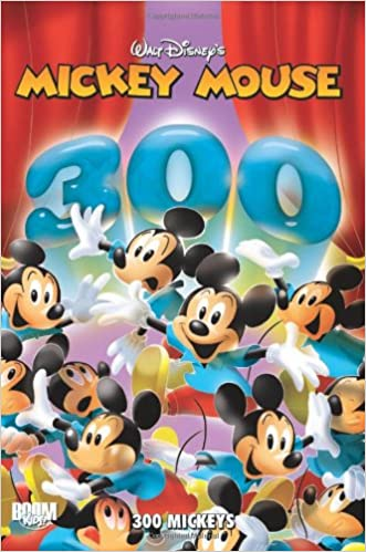buy mickey mouse and friends 300 mickeys book online at low prices