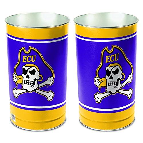 NCAA East Carolina Pirates Wastebasket