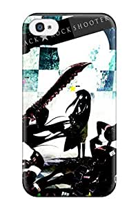 New Arrival With FZpLBqU5359QfroQ Design For Case HTC One M8 Cover - Black Rock Shooter Anime