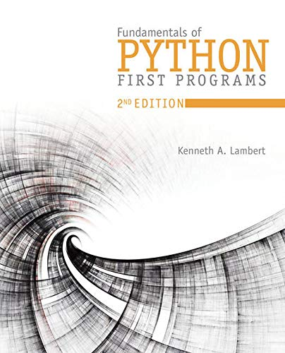 Bundle: Fundamentals of Python: First Programs, 2nd + MindTap Computer Science, 1 term (6 months) Printed Access Card