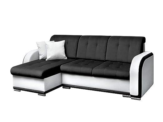 Mirjan24 Elegante Esquina Couch Avio, sofá de diseño con ...