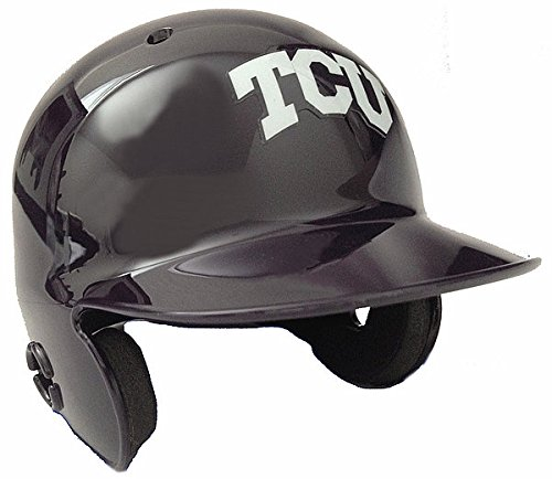 Texas Christian Horned Frogs Mini Batters Helmet - NCAA Licensed - TCU Horned Frogs Collectibles