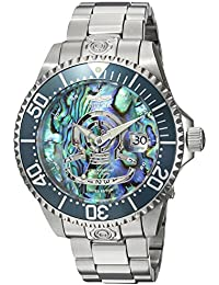 Men's 'Pro Diver' Automatic Stainless Steel Diving Watch, Color:Silver-Toned (Model: 23453)