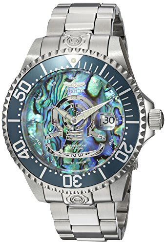 Invicta Men's 'Pro Diver' Automatic Stainless Steel Diving Watch, Color:Silver-Toned (Model: 23453) ()