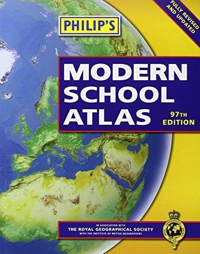 Philip's Modern School Atlas: 97th Edition (Paperback) by Philip's (2012-03-05)
