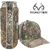 BÖHM XTRA IMPACT Water Resistant RealTree Camo Portable Wireless Bluetooth Speaker with FREE ReaLTree Camo Hat 360 HD Sound Effect with Mic