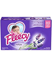 Fleecy Aroma Therapy Fabric Softener Dryer Sheets, Relax, 80 sheets