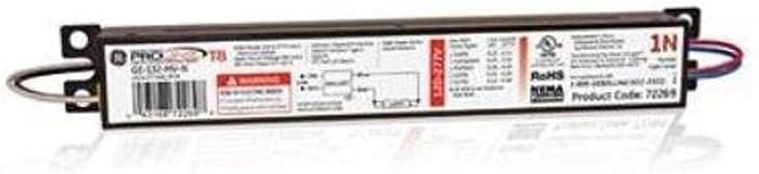 GE Lighting 72269 GE132-MV-N 120/277-Volt Multi-Volt ProLine Electronic Fluorescent T8 Instant Start Ballast 1 F32T8 Lamp