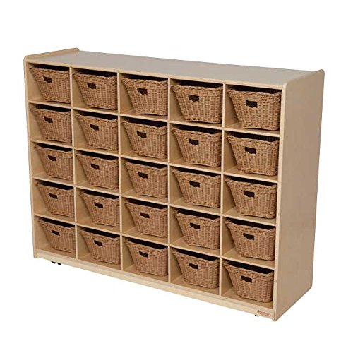 Natural Environments WD16009-718 25 Tray Storage with Baskets (25 Tray Storage)