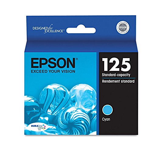 Epson T125220 (125) Ink - Cyan (Pack of 2)