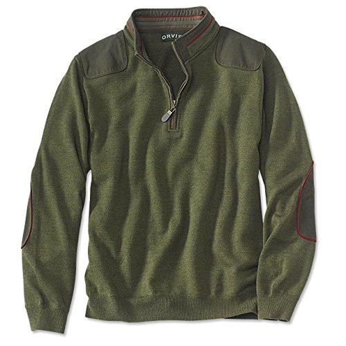 Orvis Men's Merino Upton Quarter-zip Sweater