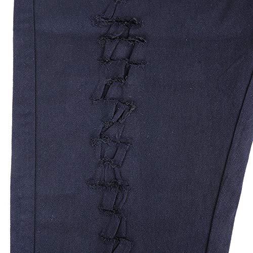 Taille Pants Pantalon Denim Hommes Déchiré Haute Leggings Lannister Maigre Pour En Stretch Mode Crayon Fashion Schwarz Femmes Filles n0NOvm8w