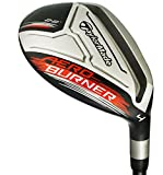 TaylorMade Men's Aero Burner 16 4 Hybrid Club (Graphite, 22 Degree, Regular, Right)