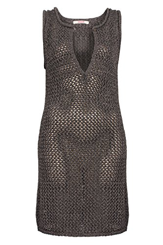 bloom kurz Strickkleid Strickkleid bloom Schwarz qqBTH0