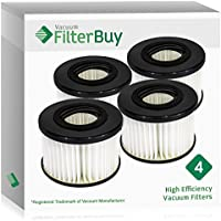 4 - FilterBuy Eureka DCF20 (DCF-20) Replacement Filters. Replaces Eureka Part # 3041 65318A, 79902. Designed to be Compatible with Eureka Enviro Vac Upright Vacuum Cleaner.