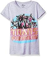 Transformers Big Girls' Princess Tee