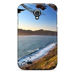 For Galaxy S4 Fashion Design Golden Gate Case-aVuXkeM4809aGLgC