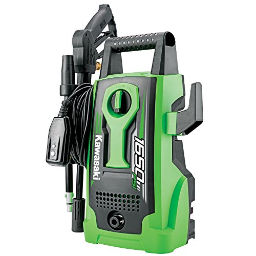 Kawasaki 1650 PSI Outdoor Cleaning Electric Pressure Washer - 842056 by Kawasaki
