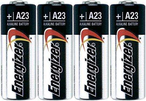 Genie Garage Door Opener Battery - Energizer A23 Battery, 12V (Pack of 4)