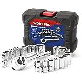 "Workpro 24-piece Socket Set (3/8"" Drive Sockets)"
