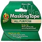 Duck All Purpose Masking Tape - 25 mm x 50 m