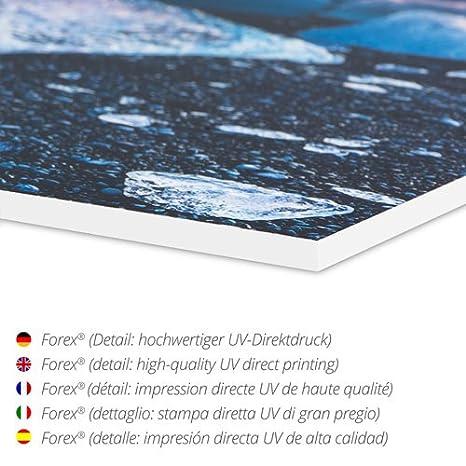 Posterlounge Acrylglasbild 40 x 20 cm: Handelsschiffe vor der Hagia Sophia Acryl Glasbild Istanbul von Anton Schoth//ARTOTHEK Wandbild Druck auf Acryl Glas Bild