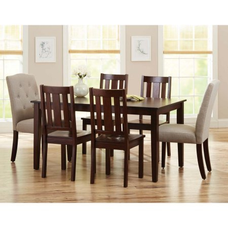Better Homes and Gardens Bankston Dining Chairs, Set of 2, Mocha by Better Homes & Gardens (Image #2)