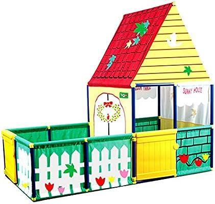 URBN Toys Childrens Outdoor Garden City Playhouse