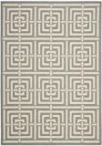 Safavieh Courtyard Collection CY6937-65 Grey and Cream Indoor/Outdoor Area Rug (8′ x 11′) Review