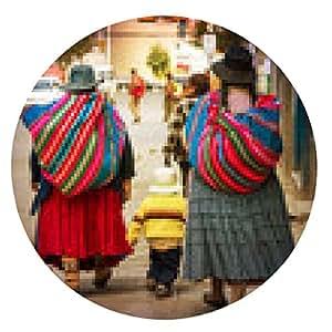 alfombrilla de ratón pueblo boliviano en la ciudad - ronda - 20cm