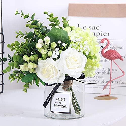SloyBaden Flor de Seda Flores Falsas Flor Artificial Salón florero ...