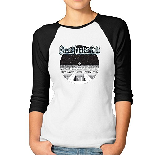 Fashion Woman Blue Music Oyster Poster Cult Tees Black [Size M (Blue Oyster Cult Pin compare prices)