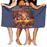 Uolongqul Social Distortion Sex Love And Rock N Roll Bath Towel Beach/Bath/Pool Towel 51.2'' X 31.5''