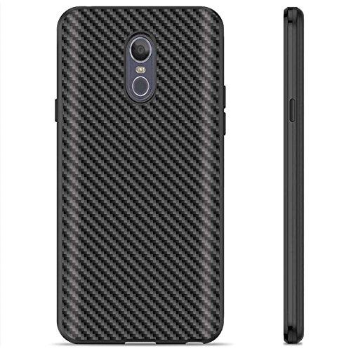 Xtreme Carbon Fiber - [Armor Xtreme] LG LG Stylo 4/Q Stylus [Black] Soft Slim Impact Protector Phone Case [Carbon Fiber Black Print]