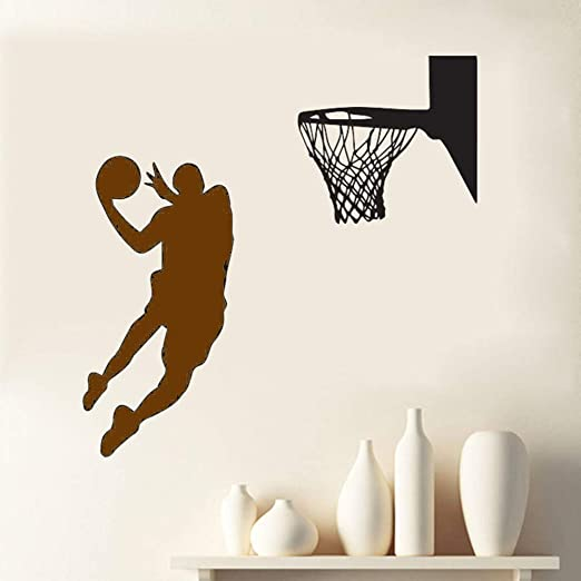 Zaosan Tatuajes de Pared Grand Slam Baloncesto Pintura de Pared ...