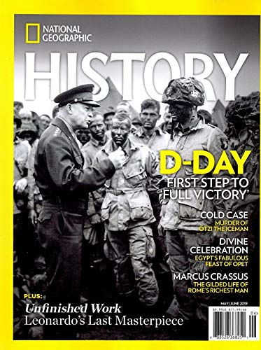 National Geographic History Magazine May June 2019 World War II D-DAY (National History D)
