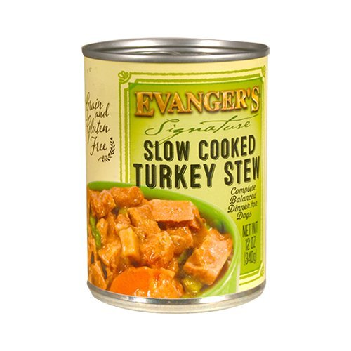 Evangers Signature Series Slow Cooked Turkey Stew for Dogs,