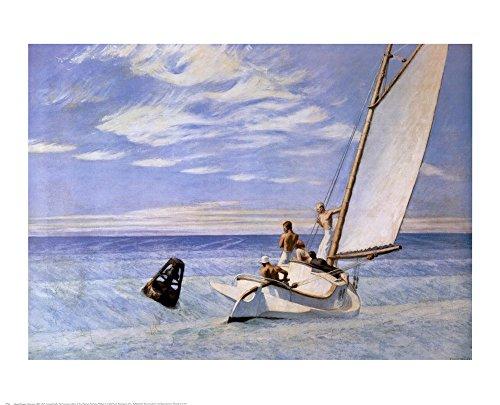Hopper Edward Ground Swell Art - Great Art Now Ground Swell by Edward Hopper Art Print, 27 x 22 inches